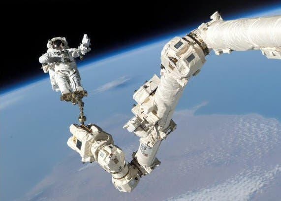 Iss-robotic-arm