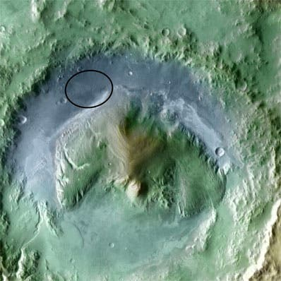 Gale crater has been selected as landing site for Curiosity