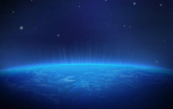 Planet-earth-in-space