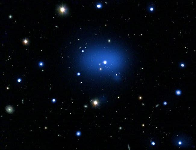 Chandra-Discovers-Most-Distant-Galaxy-Cluster-2