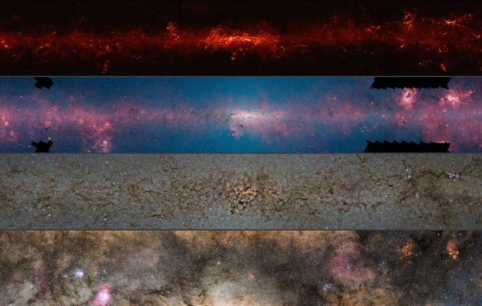 This-comparison-shows-the-central-regions-of-the-milky-way-observed-at-different-wavelengths
