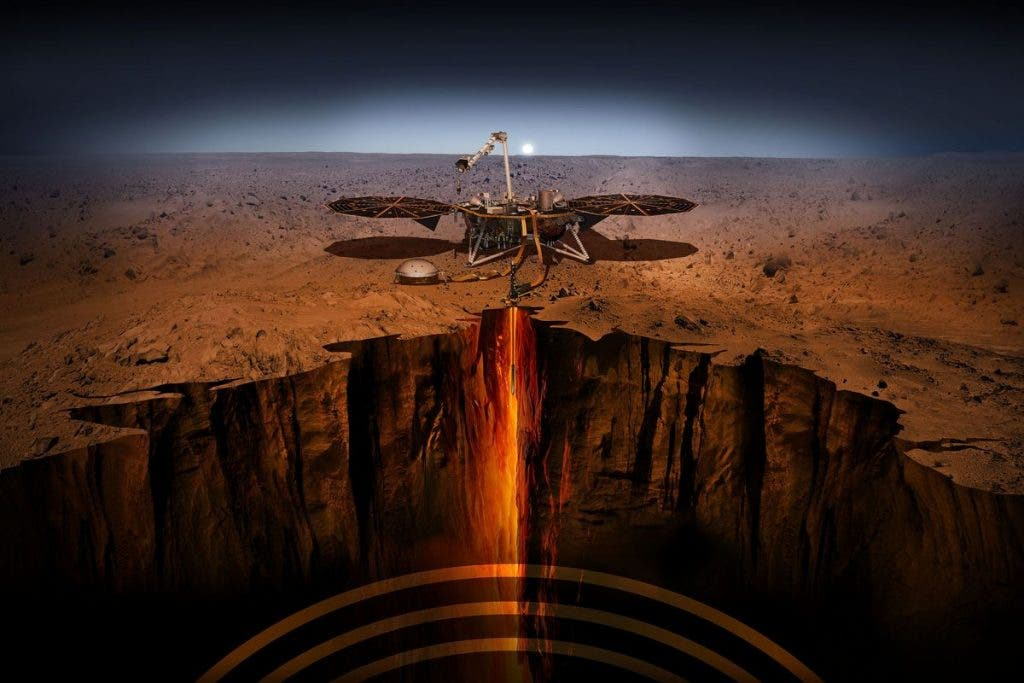 Australian scientists to help InSight survey Martian geology