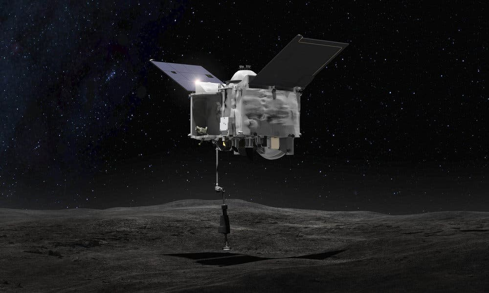 NASA at Asteroid Bennu