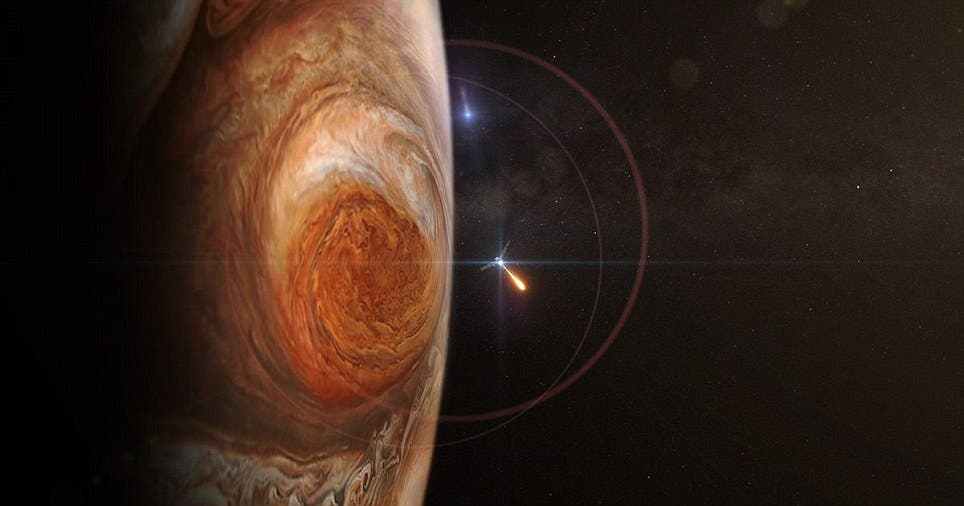NASA Juno Image of Jupiter