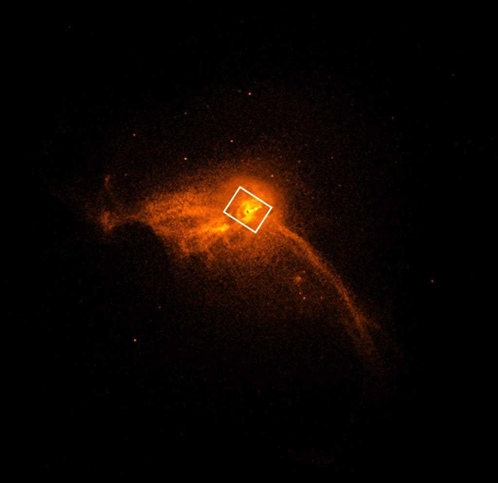 Galaxy M87 Chandra