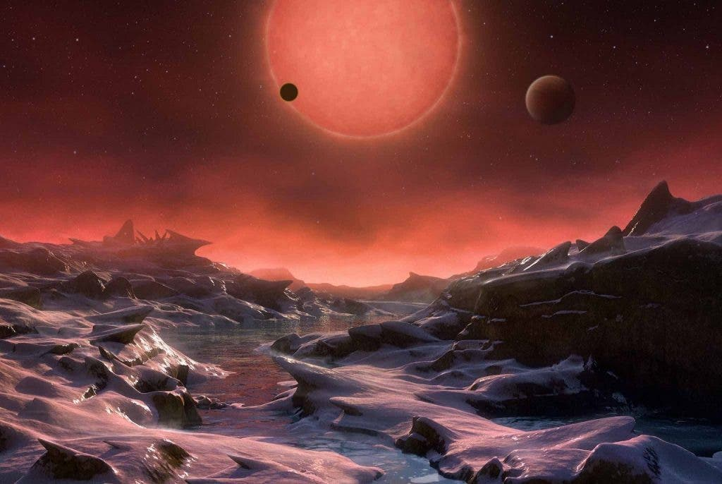 Trappist-1 Habitable Planets
