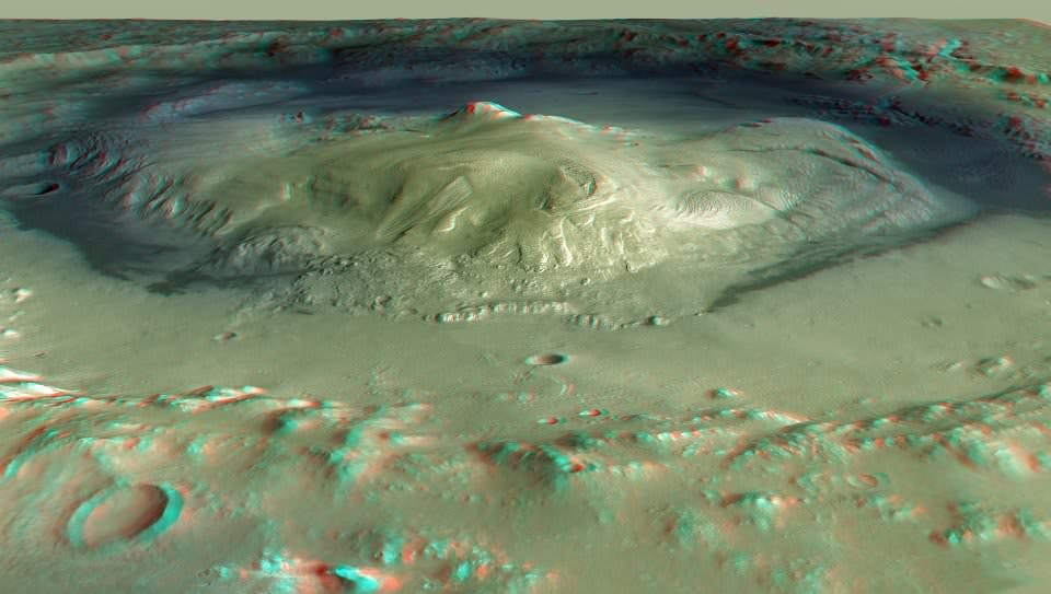 Mars Gale Crater