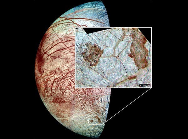 Europa's Chaotic Surface