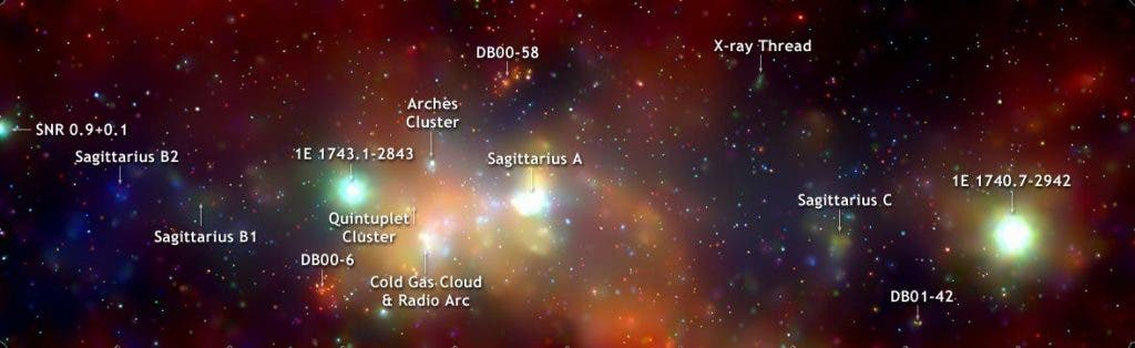 Sagittarius A* Milky Way Center