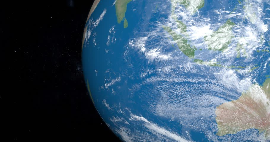 Indian Ocean from Space