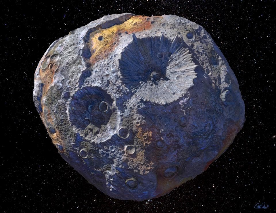 Asteroid Psyche
