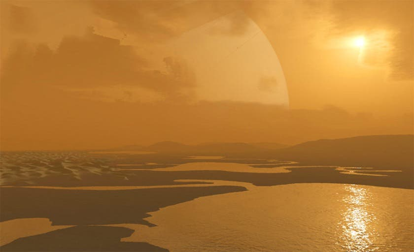 Lakes of Saturn's Titan