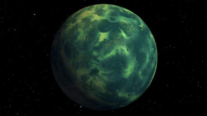 Exoplanet Colors of Life