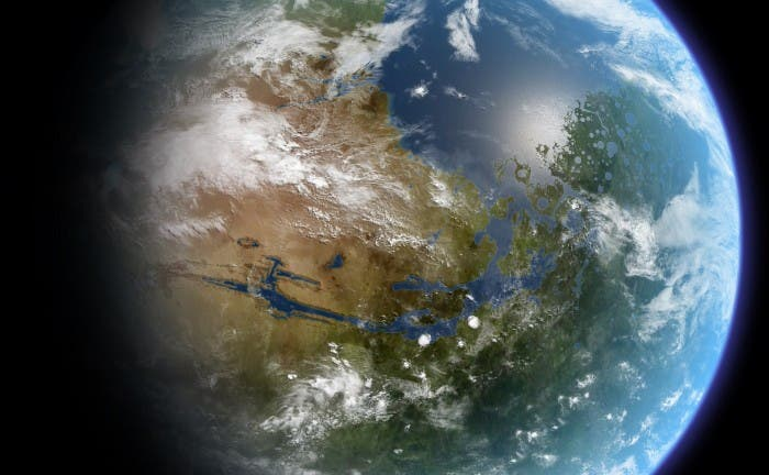 NASA Terraformed Mars