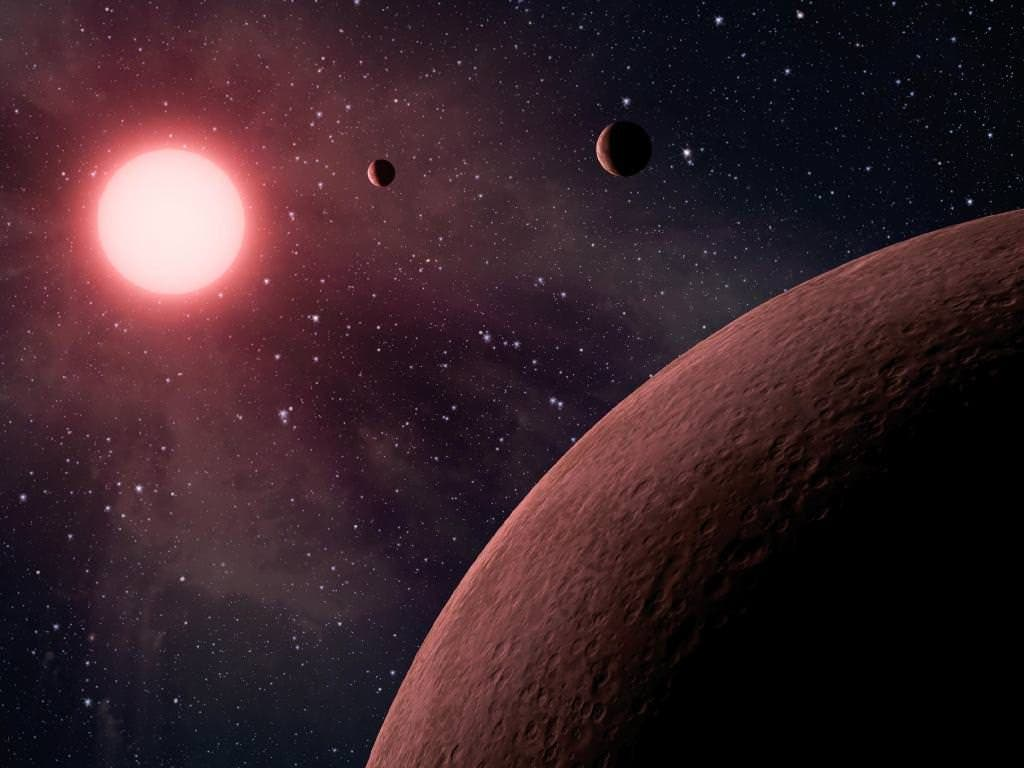 NASA M Dwarf Planet