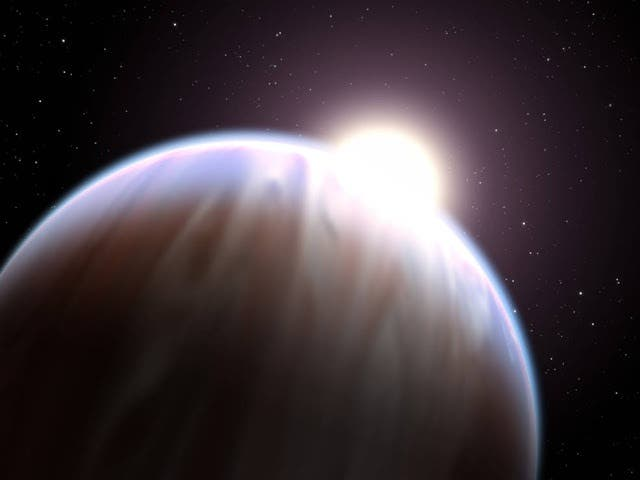 Gas Giant Exoplanet