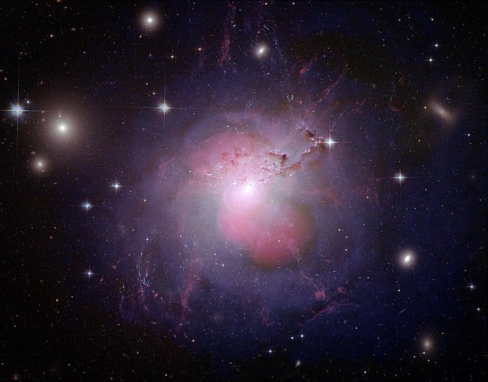 behemoth galaxy NGC 1275, also known as Perseus A