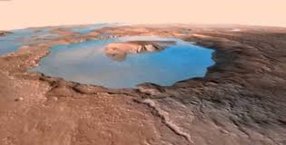 Gale Crater Lakes
