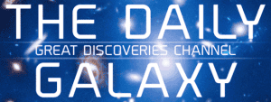 Daily Galaxy Science Discovery Space Logo