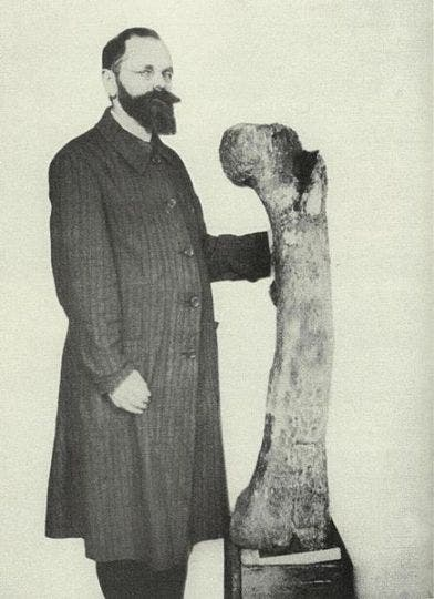 ERNST STROMER AND THE LOST DINOSAURS OF EGYPT