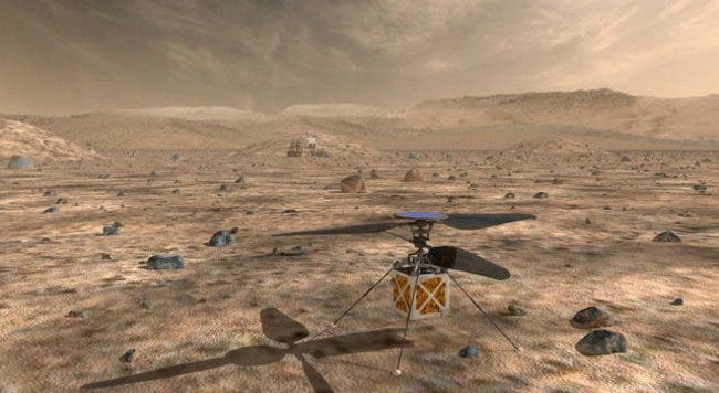 """A NASA First"" --Helicopter Will Survey Mars' Jezero Crater for Signs of Life"