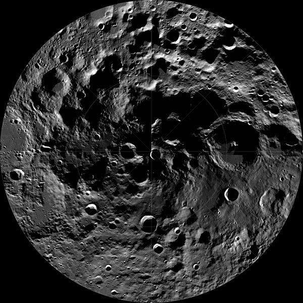 Lunar South Pole Farside