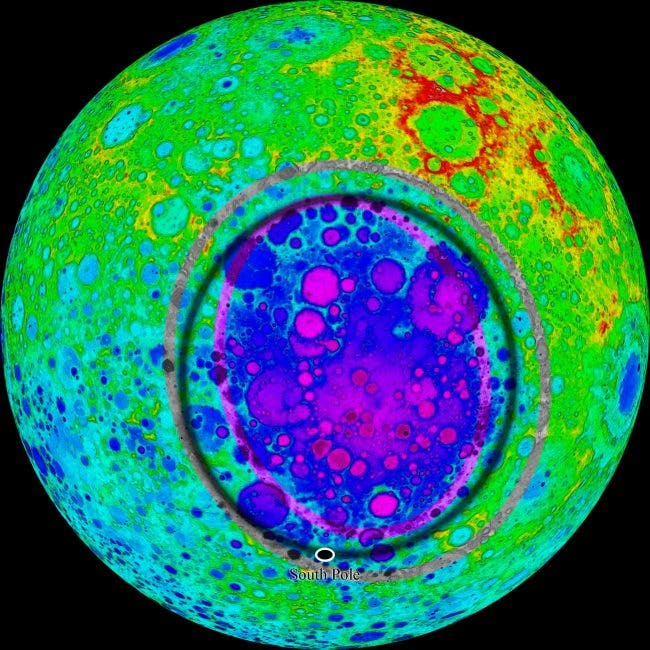 """Farside Wakeup"" --One of Largest Impacts in Solar System Rang the Moon to Life"