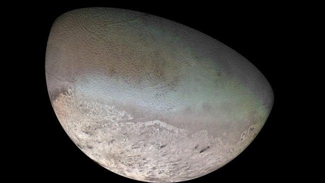 """A Very Strange World"" --What's Powering the Dark Plumes of Neptune's Mystery Moon Triton?"