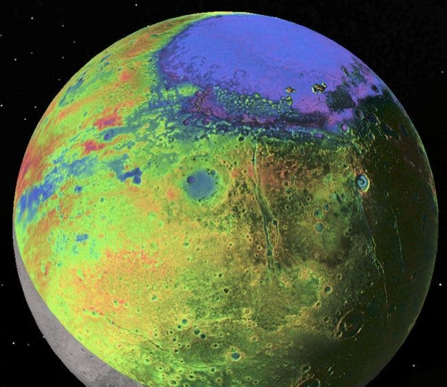 "Pluto --""Started Out Hot, with a Liquid Ocean"""