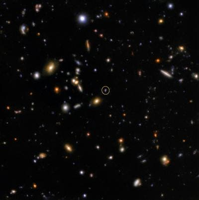 """""""Blinding Whole Galaxies, Destroying Millions of Worlds"""" --Afterglow Detected of a Rare Short Gamma Ray Burst"""