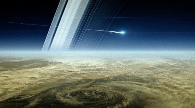 """""""A Cosmic Connection"""" --New Hubble Image Reveals Secret of Saturn's Rings"""