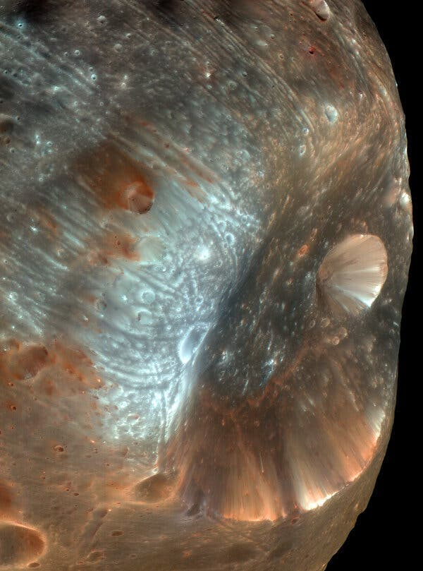 """""""Phobos"""" --Mars Extremely Strange 'Science-Fiction' Moon May Hold Clues to Ancient Life"""