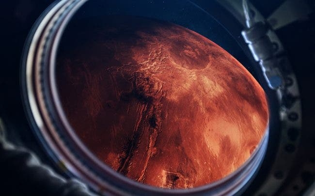 """""""The Only Planet Inhabited Solely by Robots"""" --On July 30 NASA Will Launch a Programmed 'Scientist' to Search for Life on Mars"""