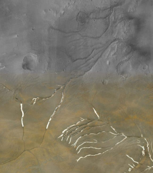 """""""Ice Age Mars"""" --Challenges a Once """"Warm and Wet"""" Red Planet"""