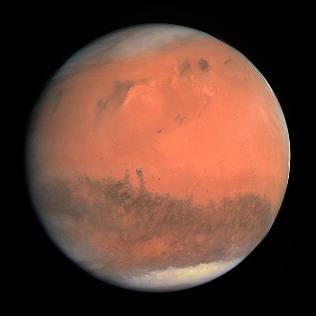 """Ice Age Mars"" --Challenges a Once ""Warm and Wet"" Red Planet"